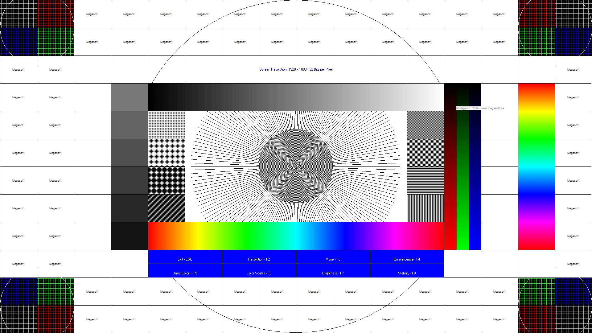 TestScreens